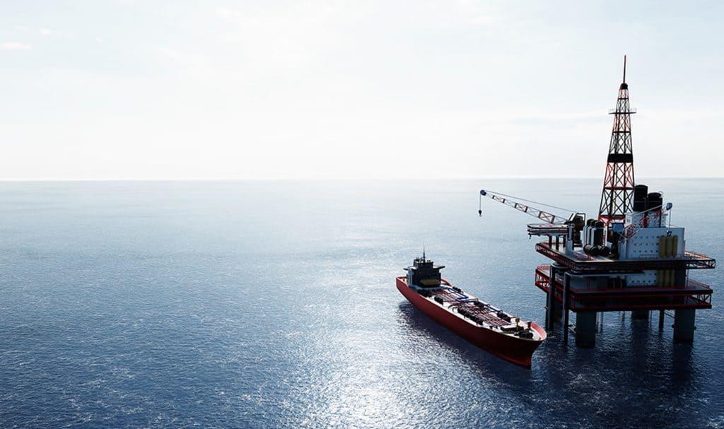 SBM Offshore platform